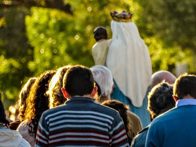 Haz una pausa de oración... María te espera para llevarte a Jesús