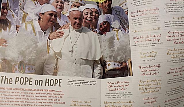 """""""Estrellas de María"""" danzan en El Vaticano"""
