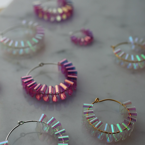 Sofie hoops small