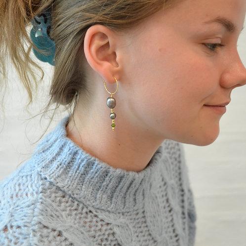 Marie unika øreringe