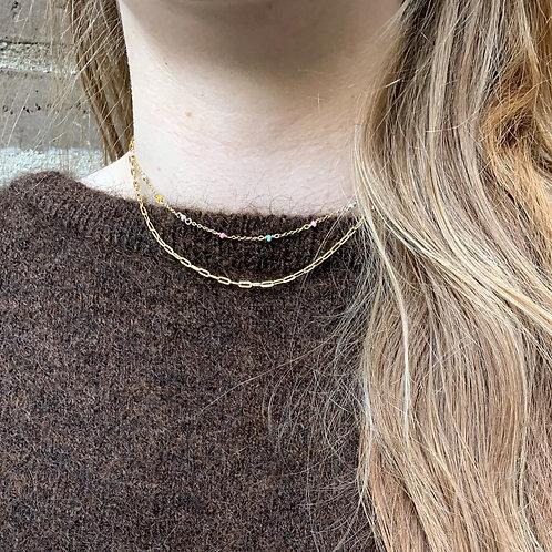 Alyssa halskæde guld