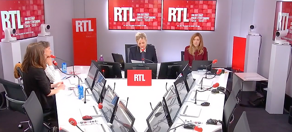 Margot Fried-Filliozat et Isabelle Filliozat en interview sur RTL avec Flavie Flament