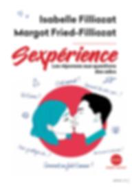 Livre Sexpérience - éducation sexuelle et affective - à partir de 13 ans