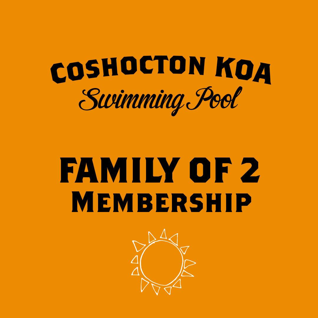 Family of 2 Membership
