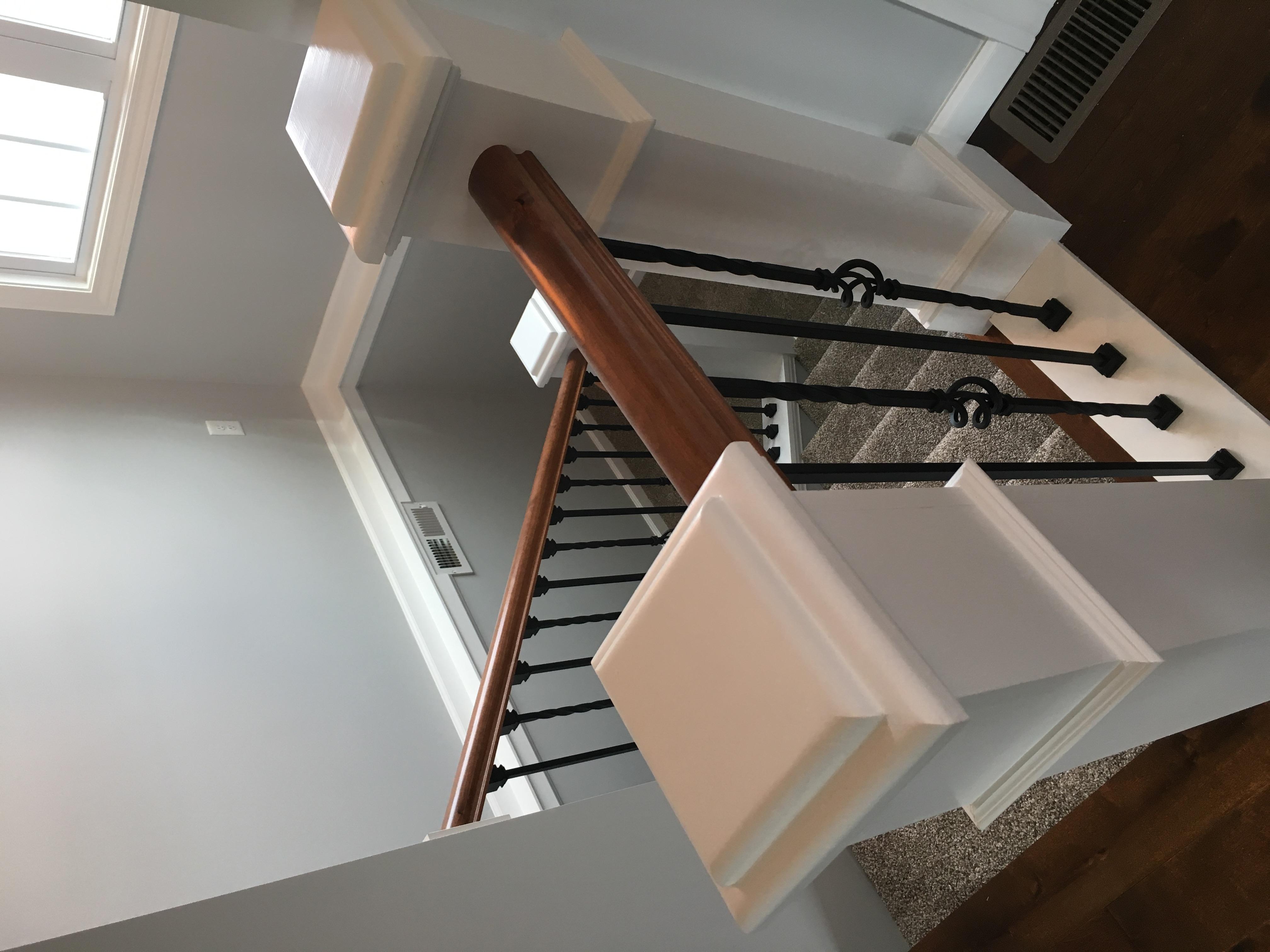 Custom made stairway