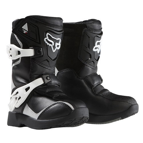 Boots Fox Comp Peewee Blk/Slv