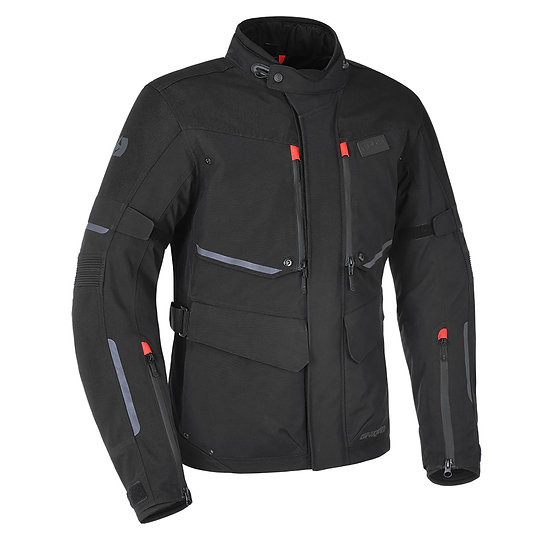 Oxford Mondial Laminate Mens Jacket Black