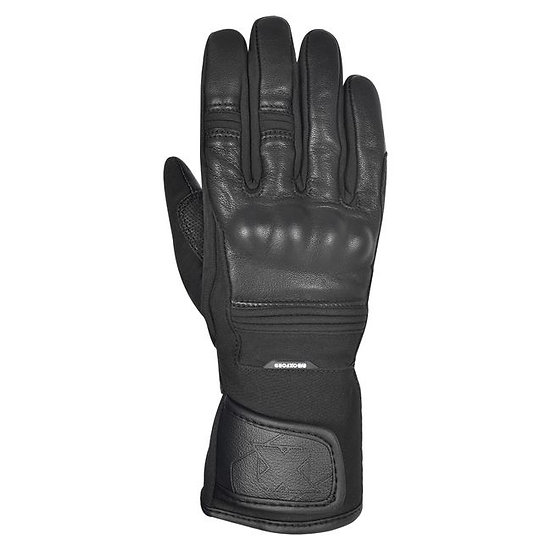 OXFORD CALGARY 1.0 LEATHER GLOVES - BLACK