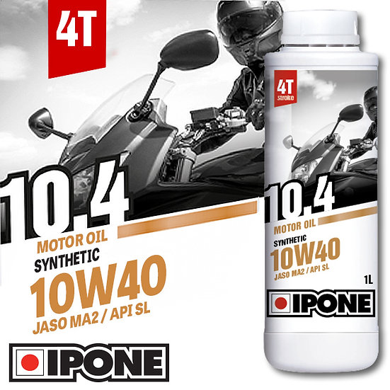 Ipone 10.4 Semi Synthetic 1L 10w40