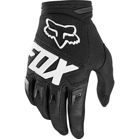 Fox Dirtpaw Gloves Blk Youth