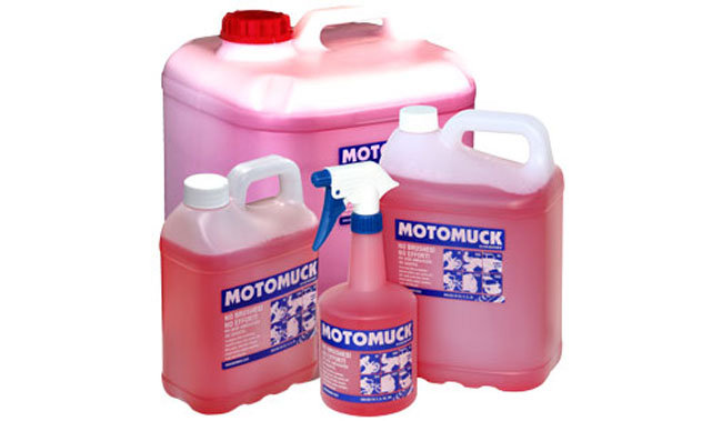 Motomuck 1 litre cleaner with trigger Bike wash