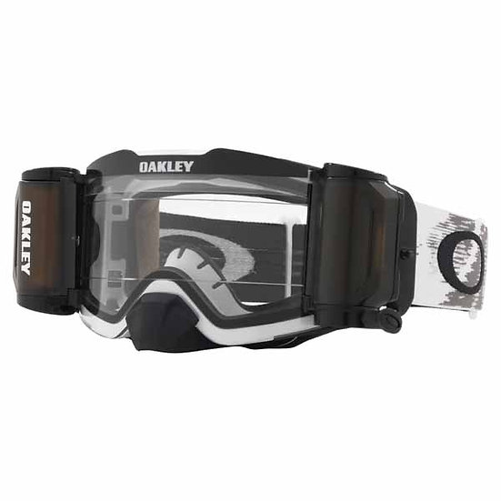 Oakley Frontline MX Goggles Matte White, Clear Lens