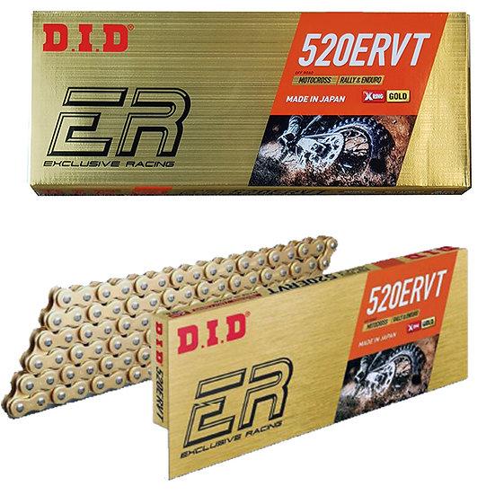 DID Chain 520ERVT 120L Gold