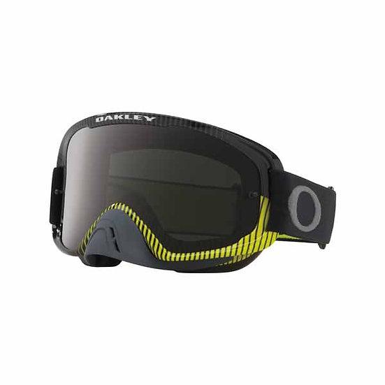 Oakley Oframe 2.0 Frequency Goggles Gunmetal/Green, Dark Grey & Clear Lens