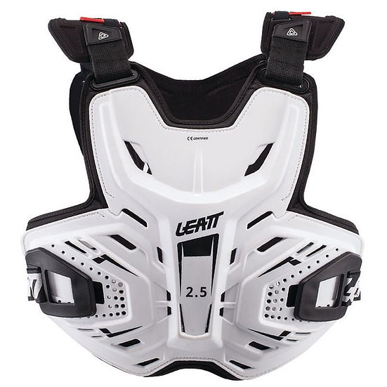 LEATT 2.5 CHEST PROTECTOR - WHITE