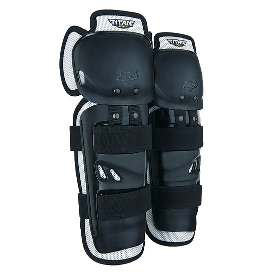 Fox Titan Knee/Shin Guard Blk