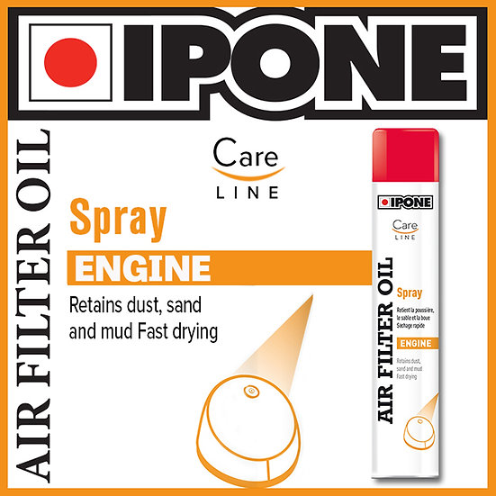 Ipone Air Filter Oil Spray 750ml