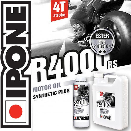 Ipone R4000 RS 10W40 4L Semi Synthetic Plus Ester