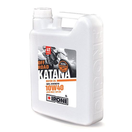 Ipone Katana Off Road 10W40 4L 100% Synthetic