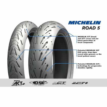 Michelin Pilot Road5 160/60 17