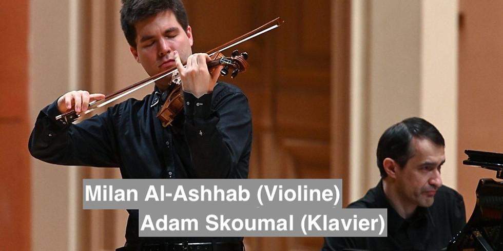 Milan Al-Ashhab (Violine) & Adam Skoumal (Klavier)