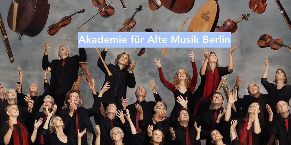 Akademie für Alte Musik Berlin & Xenia Löffler (Oboe)