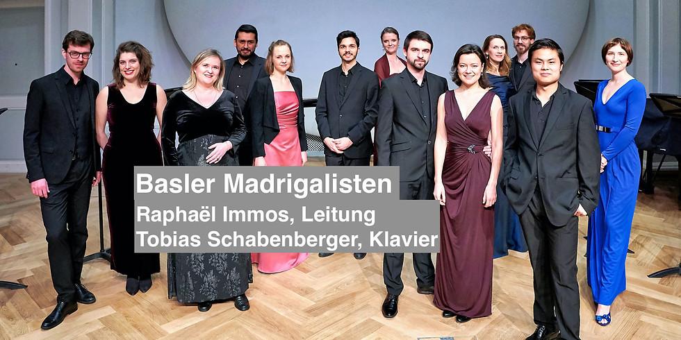 Basler Madrigalisten | Hans Huber Jubiläums Konzert