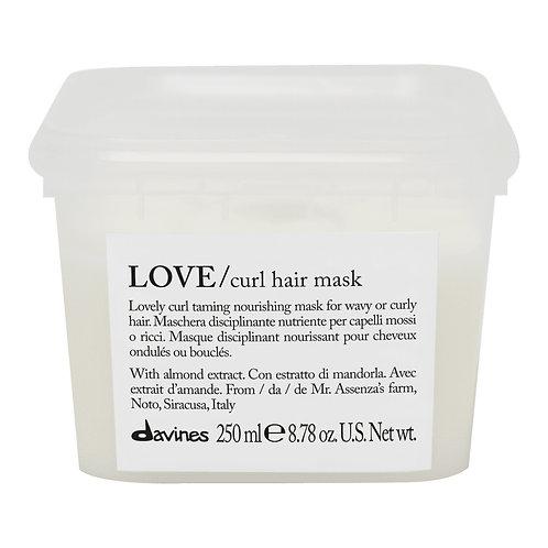 Davines mascarilla love curl 250 ml