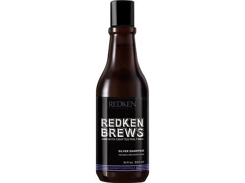 Redken brews silver shampoo 300 ml matizador canas