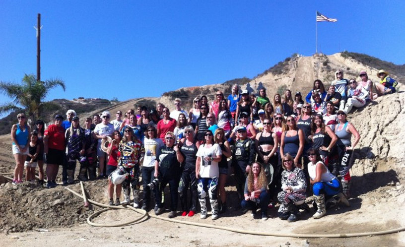 40 Years of Women's MX, Group photo, Glen Helen