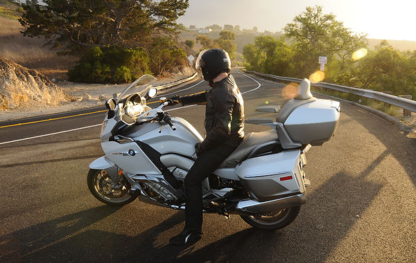 BMW K 1600 GTL Exclusive, Matt Hansen, Pacific Palisades, California, U.S.A.