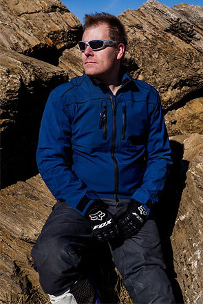 Matt Hansen, Aether Motorcycle gear, Fox Gloves, Oakely Sunglasses, California, U.S.A.