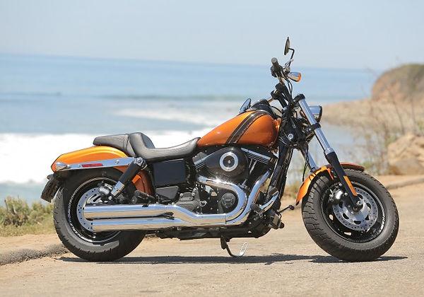 Harley-Davidson Fat Bob 103, Pacific Ocean