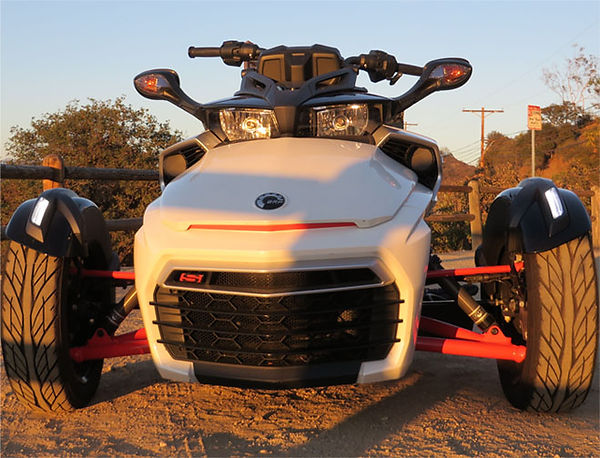 Can Am Spyder F3 front view