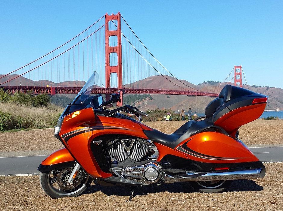 Victory Vision, San Francisco, California, Golden Gate Bridge