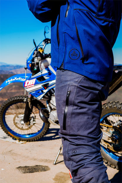 Matt Hansen, Aether motorcycly jacket and pants