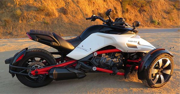 Can Am Spyder F3 full view