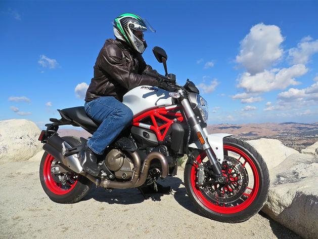 Ducati Monster 821, Matt Hansen, California, U.S.A.