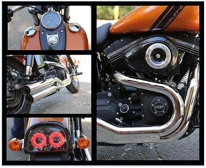 Harley-Davidson Fat Bob 103 close-up