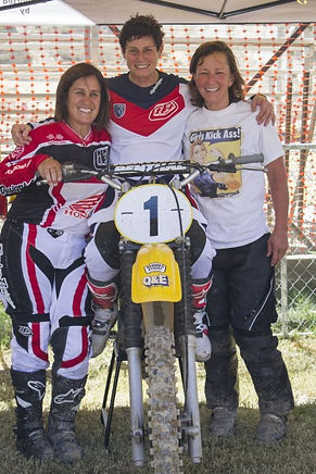 40 Years of Women's MX, Merecder Gonzalez, Sue Fish, Cary Steiner