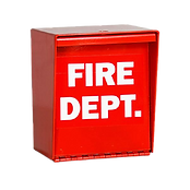 fire box ready for padlock