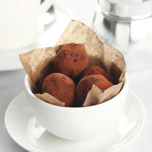 Chocolate Truffles in Cup