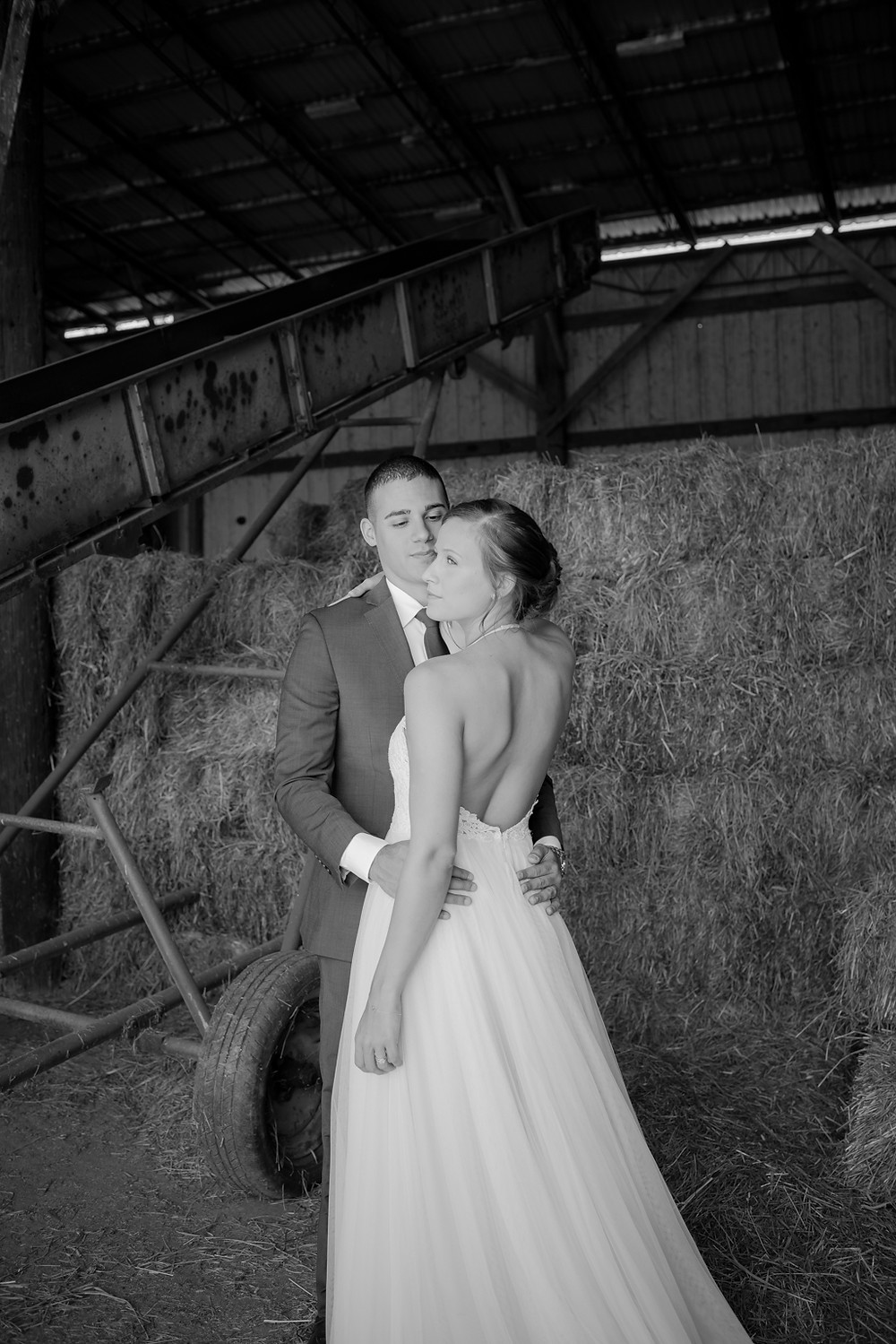 Jacqueline Binkley Photography - The Barns at Maple Valley Farm LLC Industrial Wedding