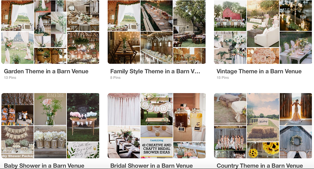 Pinterest Board for Weddings