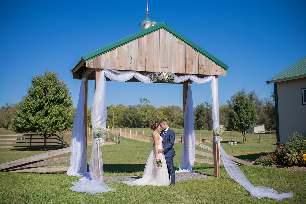 Jacqueline Binkley Photography - The Barns at Maple Valley Farm LLC Courtyard