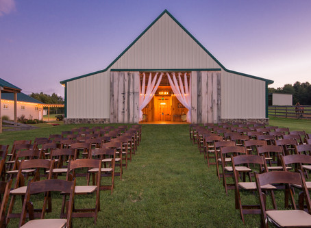 This Magic Moment... Twilight At The Barns