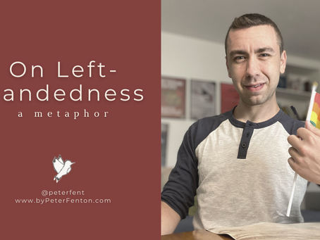 On Left-Handedness: A Metaphor