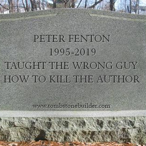 Death of the Author: Like it Or Not, It's a Real Thing