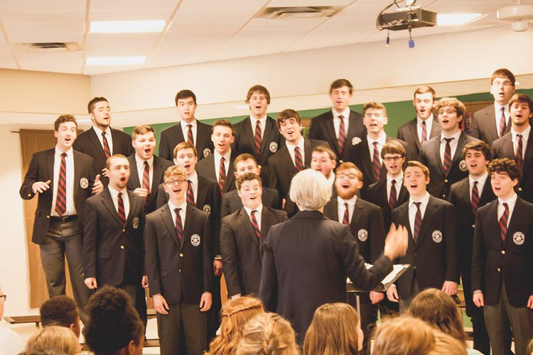 Wheaton College Men's Glee Club on Tour, 2016