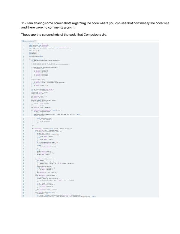 Computools code review by  Junaid_Page_2
